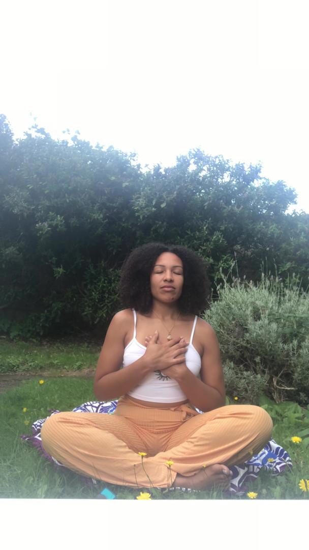 Sunshine meditation