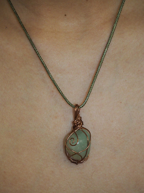Green Aventurine Necklaces