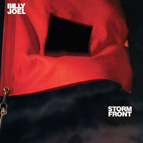 """Album cover for Storm Front (1989) featuring the song """"I Go to Extremes"""""""