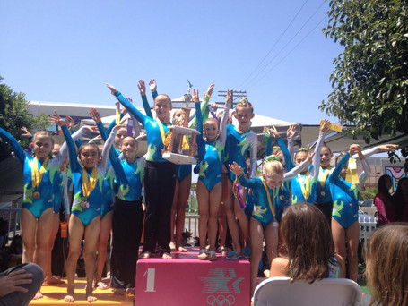 Congratulations to the San Clemente Gymnastics Competitive Team!!