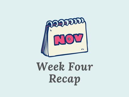Changing When I Write - Week 4 Recap