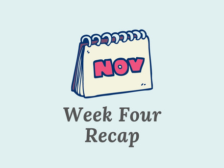 Changing When I Write - Week 4 Recap
