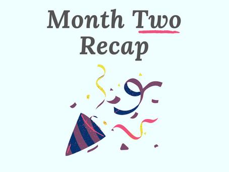 No More Writer's Guilt - Month 2 Recap (Dec)