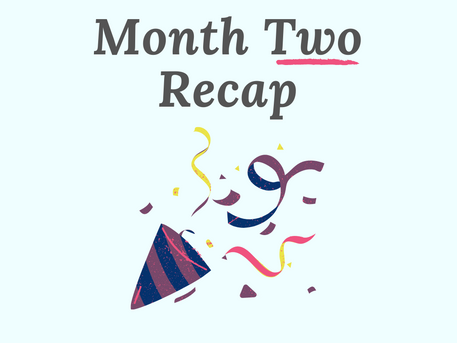 No More Writer's Guilt - Month 2 Recap (Dec)