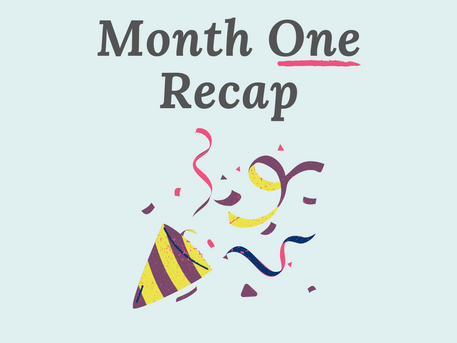 NaNoWriMo No More? - Month 1 Recap (Nov)