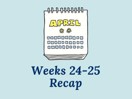 "Chasing ""The End"" - Weeks 24-25 Recap"