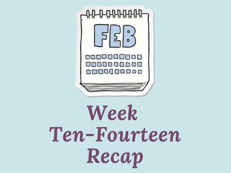 Write What Your Heart Wants - Week 10-14 Recap