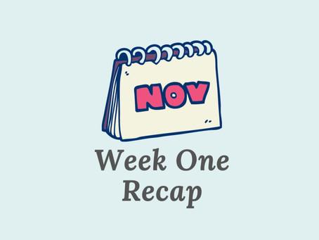Unrealistic Writing Expectations - Week 1 Recap