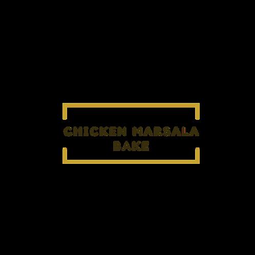 Chicken Marsala Bake
