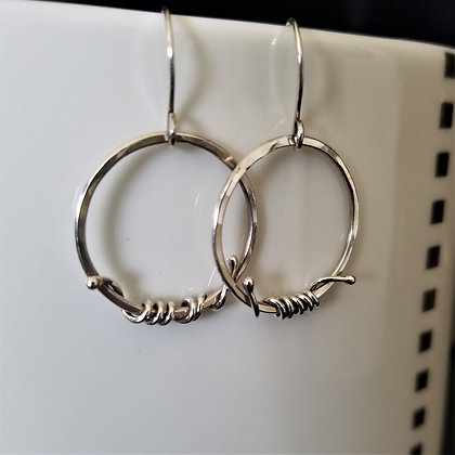 Hoop & Vine Earrings