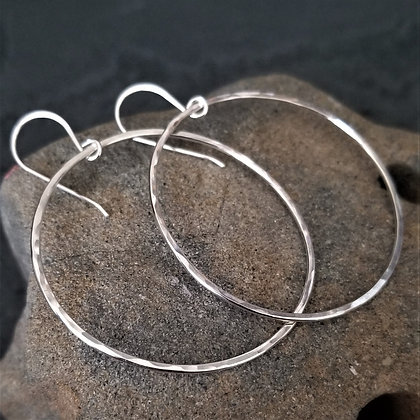 Hoop Earrings ~ large(WS)