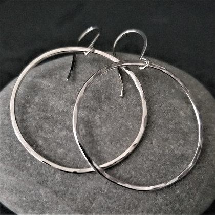 Hoop Earrings ~ medium(WS)
