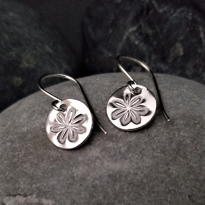 Charm Earrings - Flowers(WS)