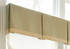 Custome window treatment cleaning : box pleat valance cleaners