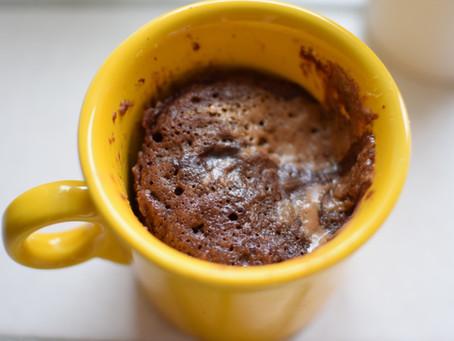 My favorite Paleo/Keto mug cake!