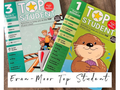 New Evan-Moor Top Student Workbook Review!