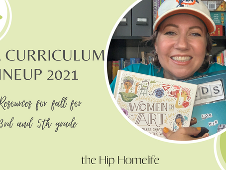 Fall Curriculum Resources 2021