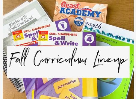 Fall Curriculum Lineup