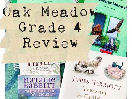 Oak Meadow 4th Grade Review