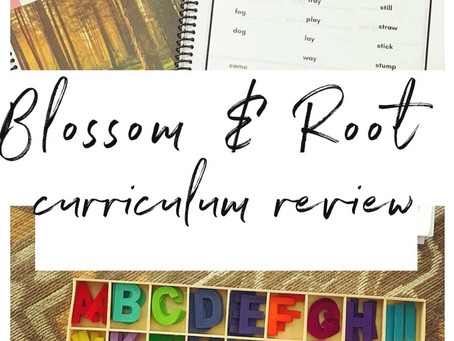 Blossom & Root curriculum
