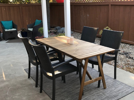 Refurbishing my Outdoor Table