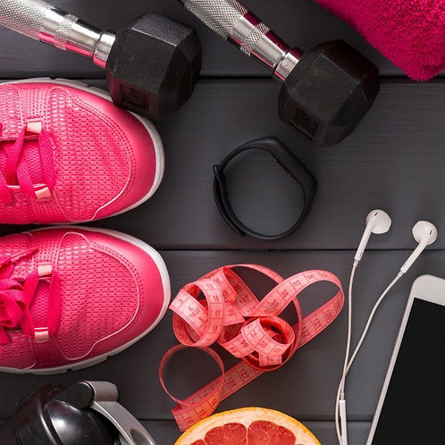 Fitness Goals Bingo