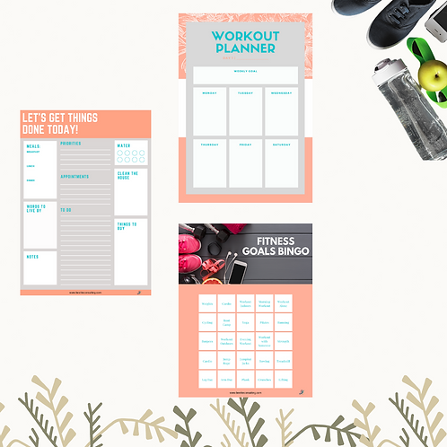 Fitness Planner Package