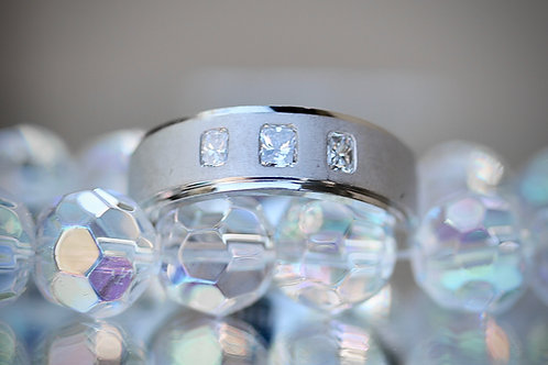 JEFF COOPER MENS DIAMOND WEDDING BAND
