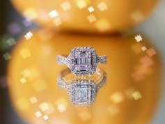 Cheap Engagement Rings Chesapeake VA, Cheap Jewelry Chesapeake VA, Rose gold Engagement Rings Chesapeake VA, Baguette Diamond Rings Chesapeake VA