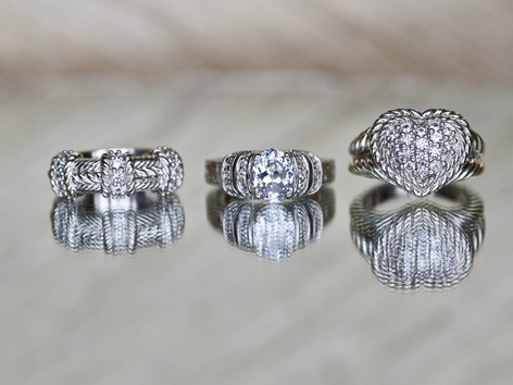 sterling silver, cubic zurconia, fashion rings, virginia beach jewelry store, hilltop pawn