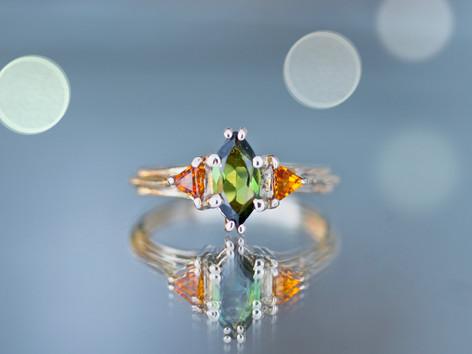 tourmaline, citrine, fashion jewelry, gemstone jewelry, virginia beach jewelry store, hilltop pawn