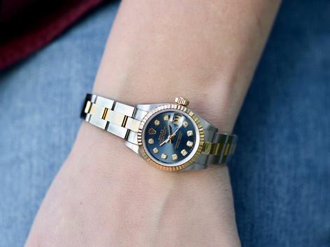 rolex, ladies rolex, watch, designer, virginia beach jewelry store, hilltop pawn