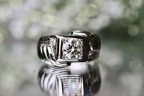 VINTAGE MENS DIAMOND RING