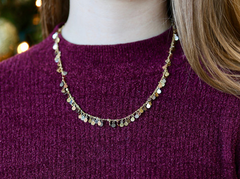 tricolor gold, fashion jewelry, necklace, virginia beach jewelry store, hilltop pawn