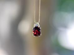 Garnet Jewelry Chesapeake VA, Birthstone Jewelry Chesapeake VA, Garnet Necklace Chesapeake VA, Cheap Jewelry Chesapeake VA