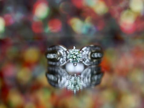 Yellow diamond, engagement ring, white gold, diamonds, virginia beach jewelry store, hilltop pawn