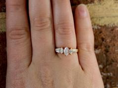 Marquise Cut Diamond Engagement Ring, Cheap Engagement Rings Chesapeake VA, Three Stone Rings Chesapeake VA, Jewelry Store in Chesapeake Virginia