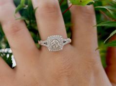 Halo Diamond Engagement Rings Chesapeake VA, Double Halo Engagement Ring Chesapeake VA, Designer Engagement Rings Chesapeake VA, Jewelry Store in Chesapeake VA