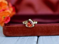 imperial topaz, gemstone, yellow gold, virginia beach jewelry store, hilltop pawn