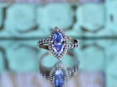 tanzanite, fashion jewelry, virginia beach jewelry store, hilltop pawn