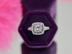 Princess Cut Diamond Engagement Rings Chesapeake VA, Halo Engagement Rings Chesapeake Virginia, Jewelry Store in Chesapeake Virginia, VA Beach Jewlery Store