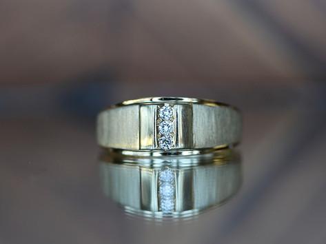 diamond band, wedding jewelry, yellow gold, virginia beach jewelry store, hilltop pawn