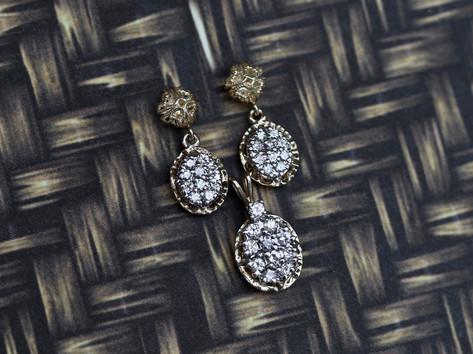 diamond jewelry, virginia beach jewelry store, hilltop pawn, cluster jewelry