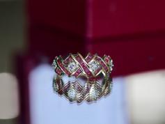 ruby ring, gemstone, virginia beach jewelry store, hilltop pawn
