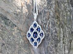 Sapphire Jewelry Chesapeake VA, Sapphire Necklaces Chesapeake VA, Cheap Necklaces Chesapeake VA, Jewelry Store in Chesapeake Virginia