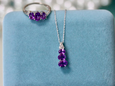 Amthest Jewelry Chesapeake VA, Amethyst Necklace Chesapeake VA, Birthstone Jewelry Chesapeake VA, Jewelry Store in Chesapeake Virginia