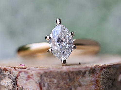 MARQUISE CUT SOLITAIRE ENGAGEMENT