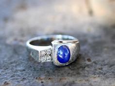 Sapphire Rings Chesapeake VA, Mens Jewelry Chesapeake Virginia, Men's Rings Chesapeake VA, Star Sapphire Jewelry Chesapeake Viriginia