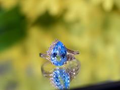Blue topaz Rings Chesapeake VA, Birthstone Rings Chesapeake VA, Gemstone Jewelry Chesapeake Virginia, Jewelry Store in Chesapeake Virginia