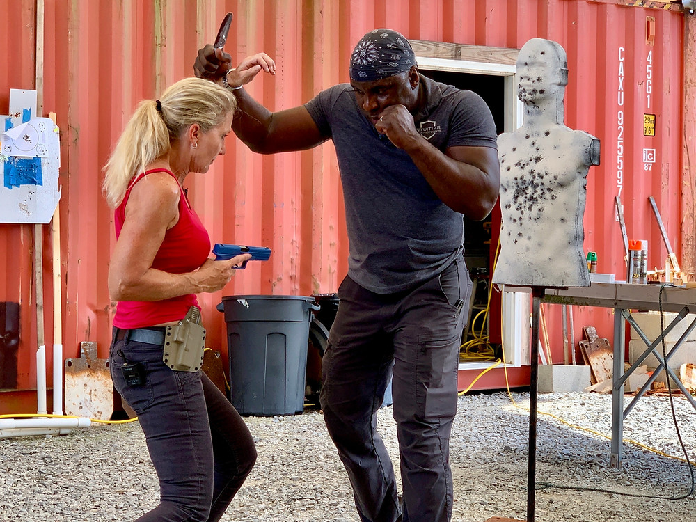 Concealed Carry training with Hank Hayes